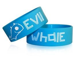Evil Whale Wristband