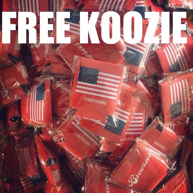 free koozie