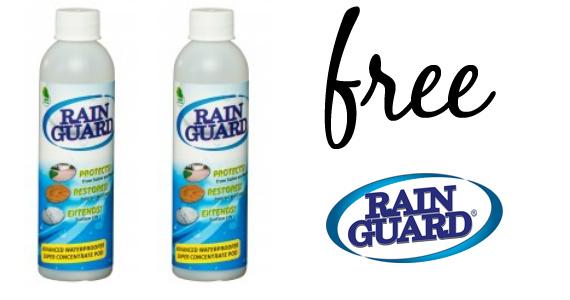 free sample of rainguard