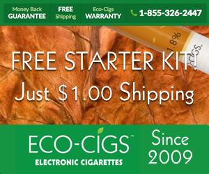 free starter kit eco cigs