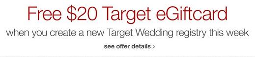 free 20 target egiftcard