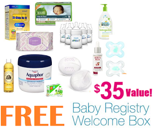 FREE Baby Registry Welcome Box...