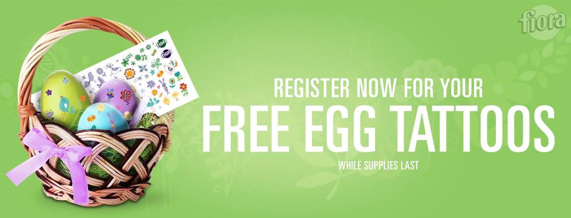 free egg tattoo kit