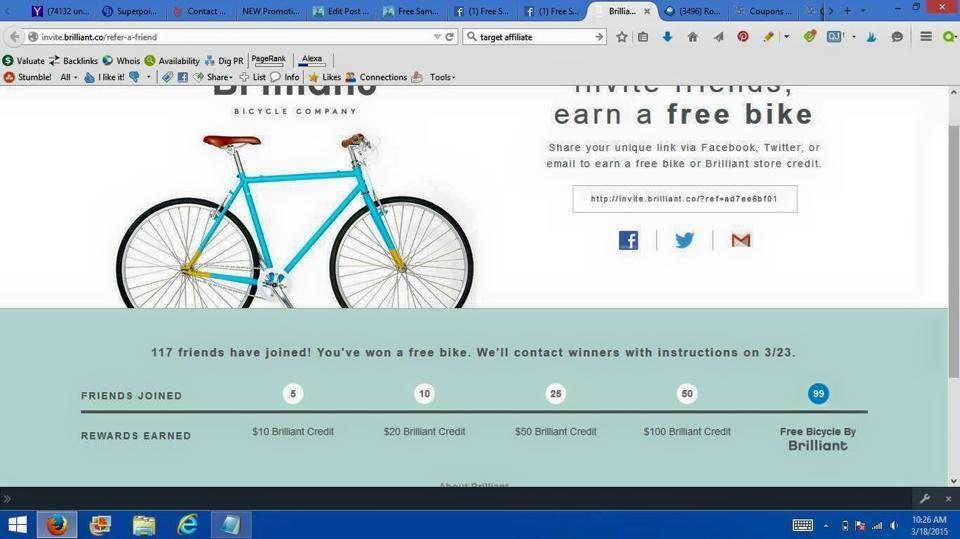 free bike winner