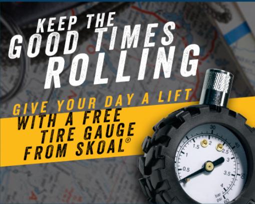 free tire gauge