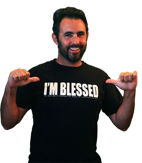 im blessed shirt