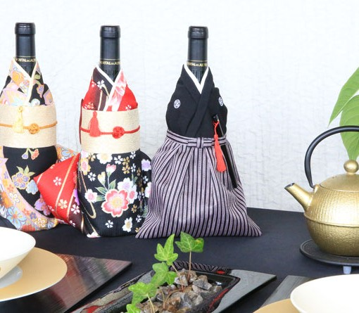 kimono bottle cover