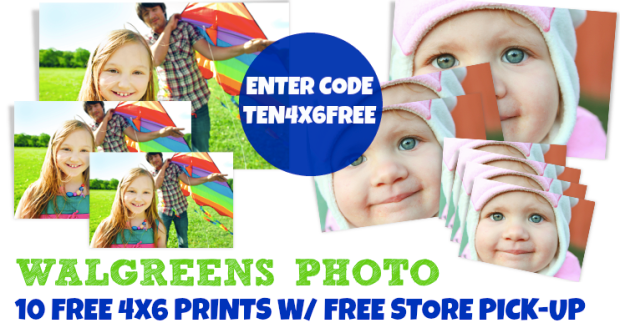 Walgreens photo coupon code 4x6