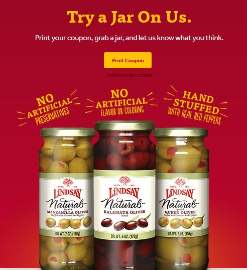 free lindsay olives