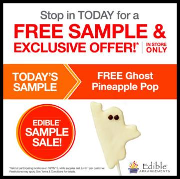 edible arrangements ghost