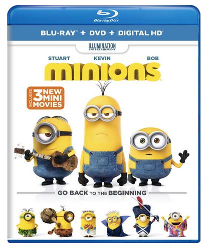 minion dvd