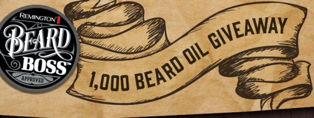 remington beard oil