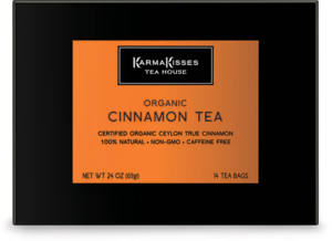 Karma Kisses Organic Cinnamon Herbal Tea
