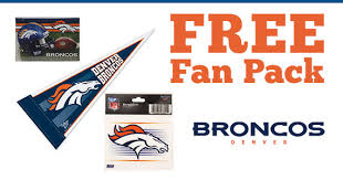 denver broncos fan pack