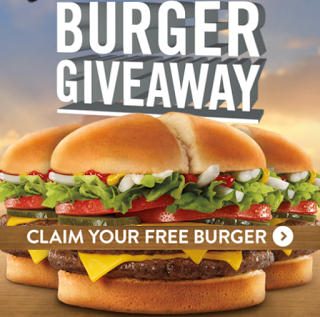 jack in the box free burger