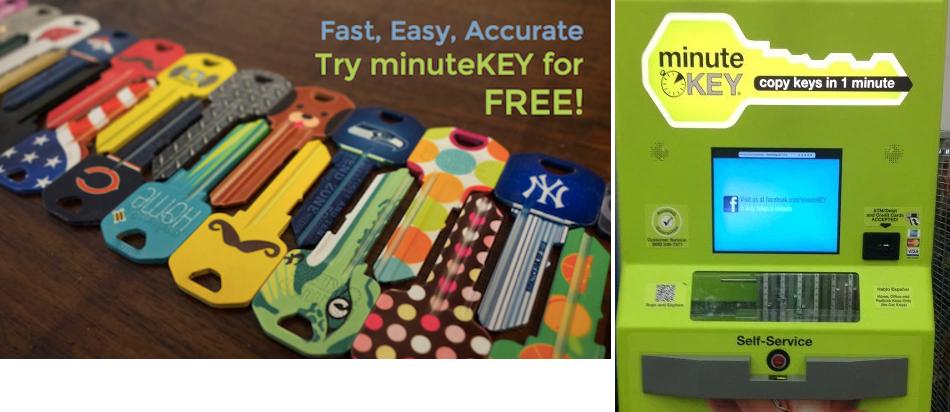 Key Machine Walmart >> Free Key From Minute Key