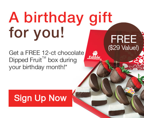 edible arrangements birthday