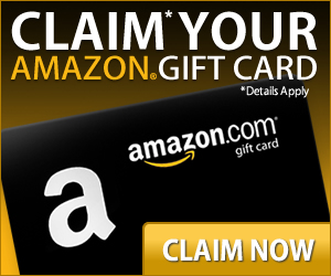 free amazon gift card claim now