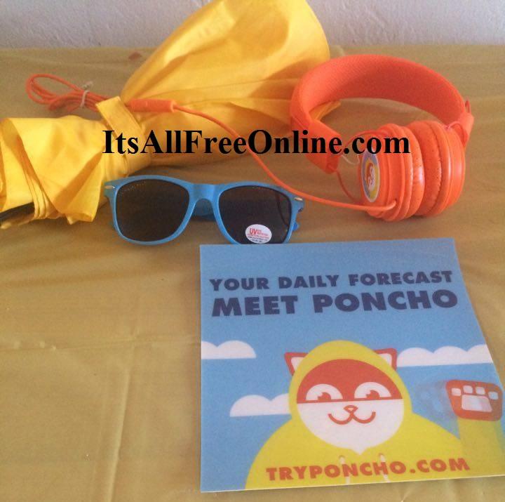 poncho free swag