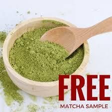matcha sample