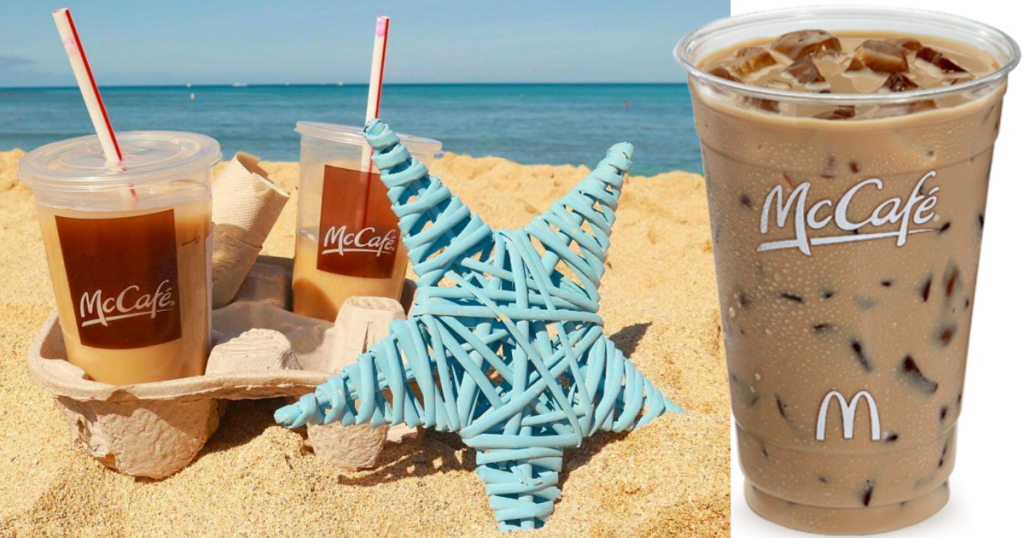 mcdonalds iced coffee