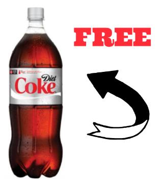 free diet coke