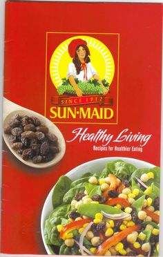 sun maid healthy living