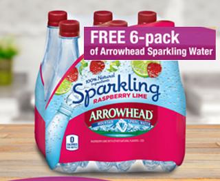 free 6pack of arrowhead