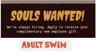 adult swim free gift