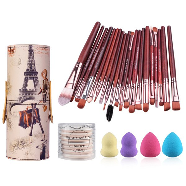 20piece makeup brush set