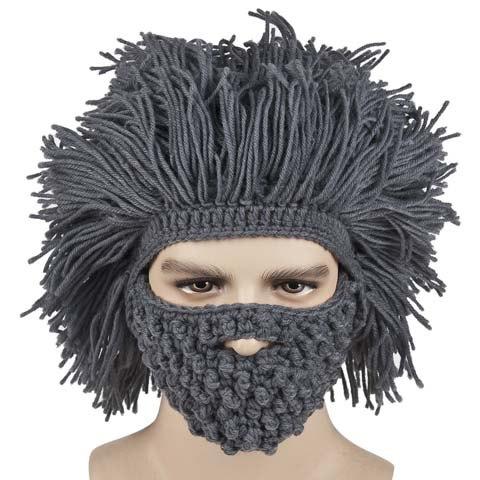 beard afro hat