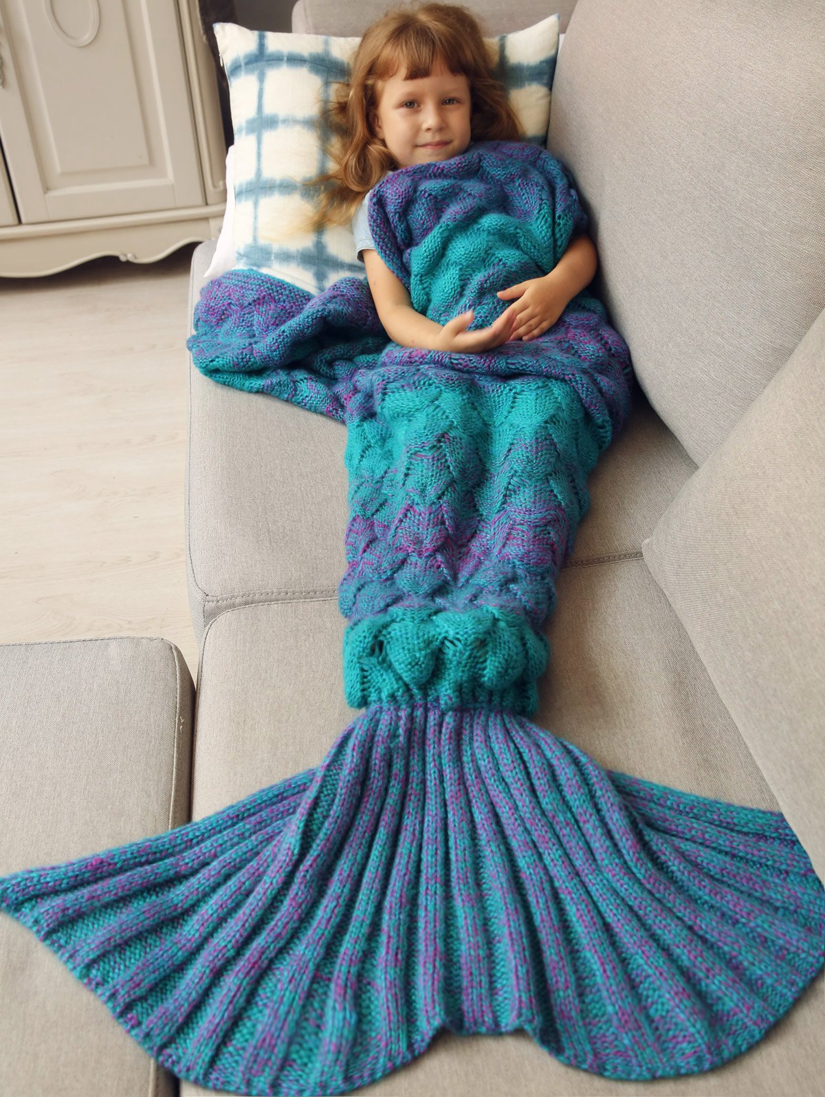 mermaid blanket for kids
