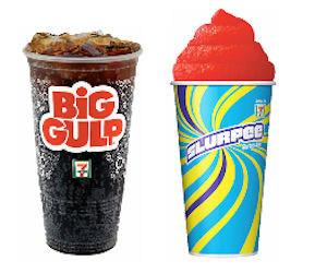 big gulp medium slurpee