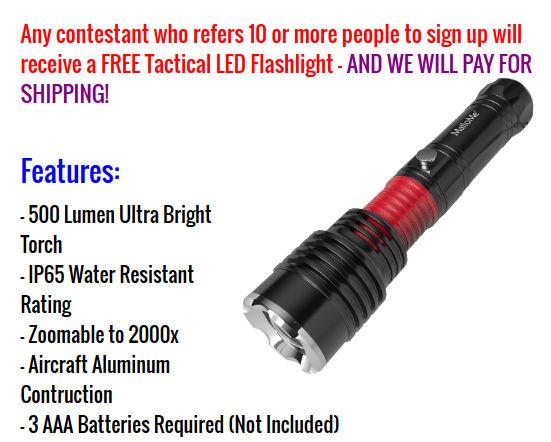 flashlight referral