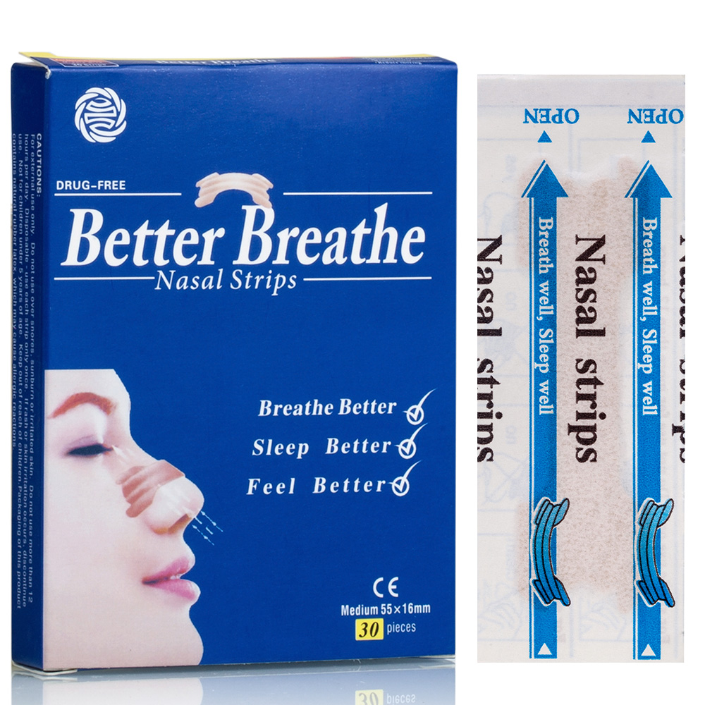 better breathe nasal strips