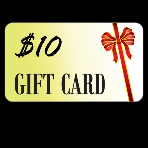 Free $10 Prepaid VISA Gift Card