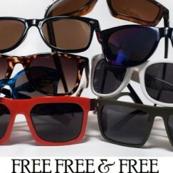 free pair of sunglasses