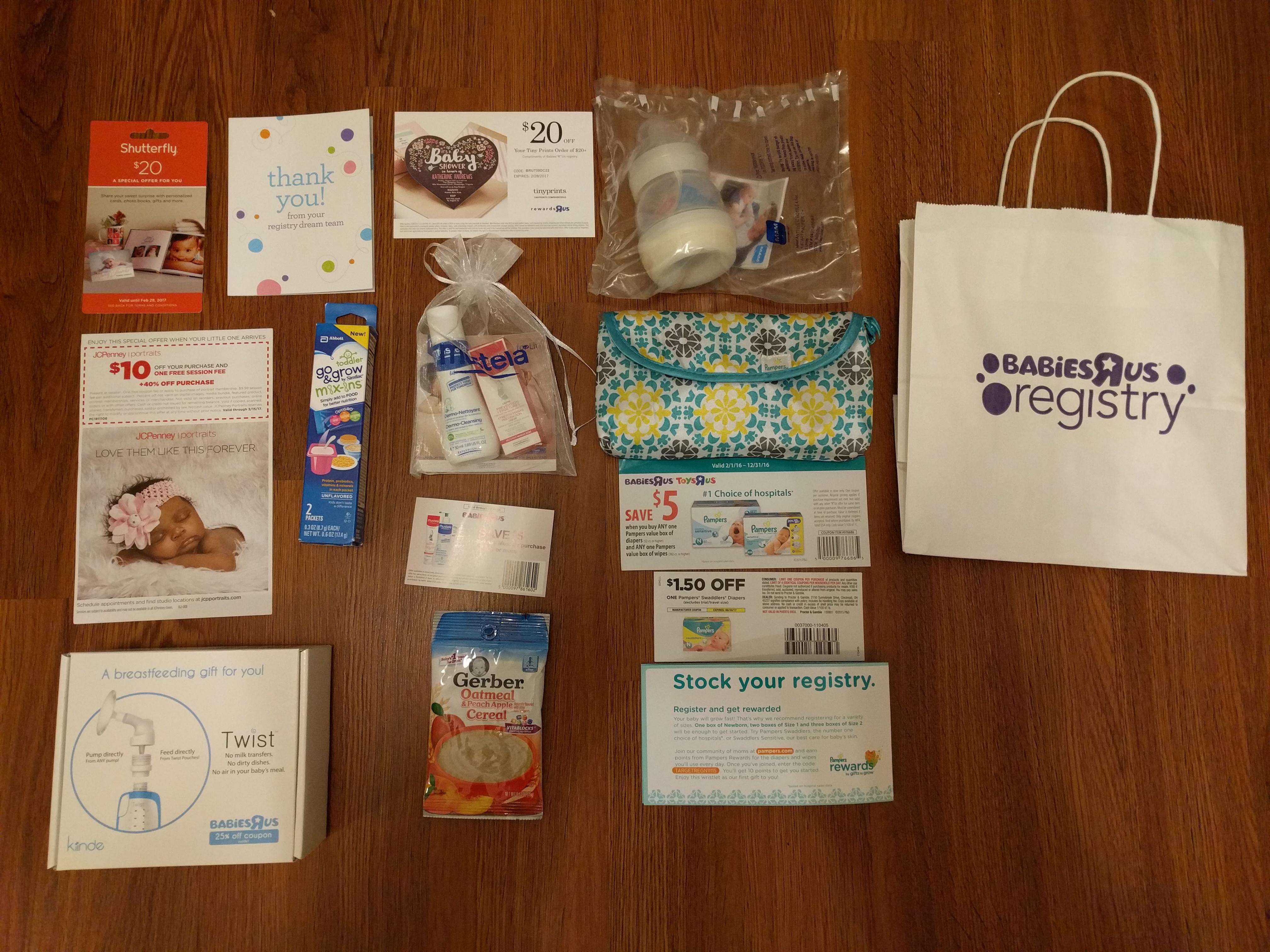 Toys R Us Baby Registry Gift Bag Lamoureph Blog