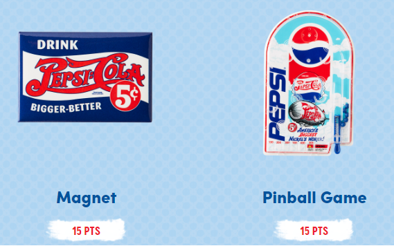 Pepsi Rewards Program – Free Easy Prizes