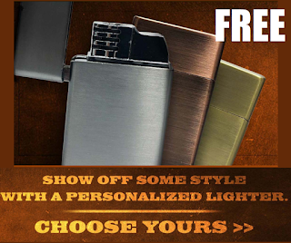 Free Lighter with Your Initials